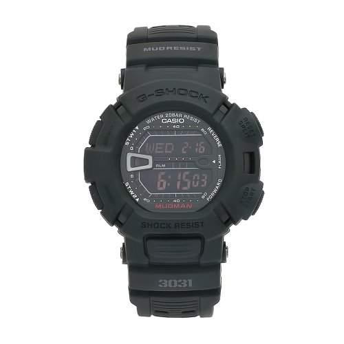 Casio Herren G-9000MS-1DR G-Shock Black Resin Digital Dial Uhr