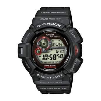 Casio Herren-Armbanduhr XL G-Shock Master Of G Digital Quarz Resin G-9300-1ER