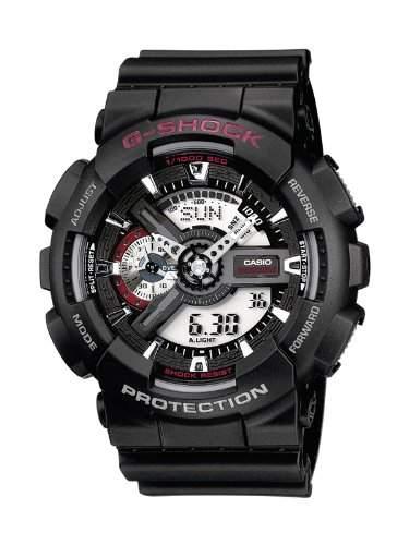 Casio G-Shock Herren-Armbanduhr Anaolg Digital Quarz GA-110-1AER