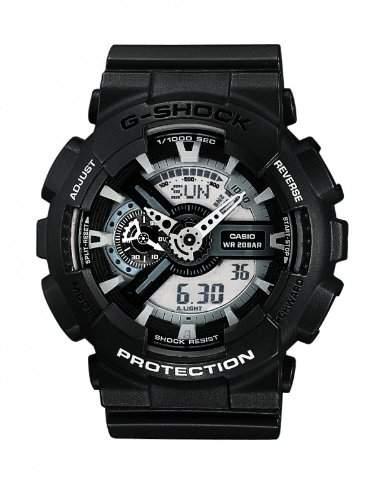 Casio G-Shock Herren-Armbanduhr Anaolg Digital Quarz GA-110C-1AER
