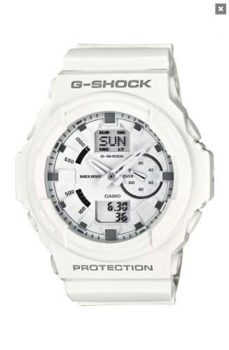 Casio Herren-Armbanduhr XL G-SHOCK Analog - Digital Resin GA-150-7AER