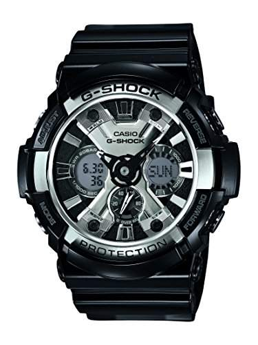Casio Herren-Armbanduhr XL G-Shock Style Series Chronograph Quarz Resin GA-200BW-1AER