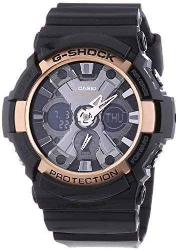 Casio Herren-Armbanduhr XL G-Shock Style Series Chronograph Quarz Resin GA-200RG-1AER