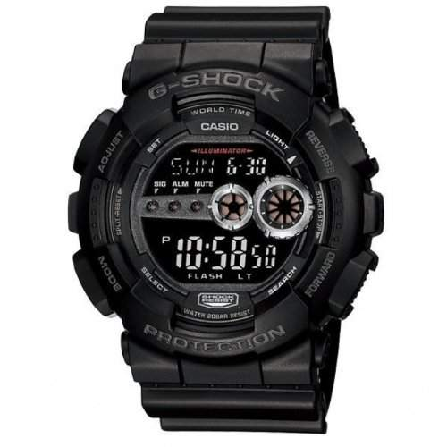 Casio G-Shock Herren-Armbanduhr Digital Quarz GD-100-1BER