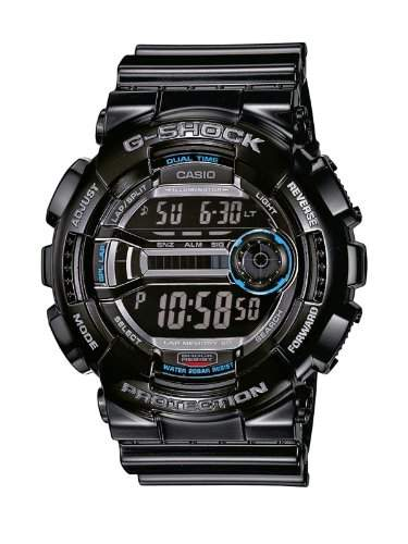 Casio Herren-Armbanduhr XL G-Shock Digital Quarz Resin GD-110-1ER