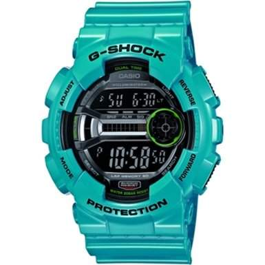 Casio Herren-Armbanduhr XL G-Shock Digital Quarz Resin GD-110-2ER