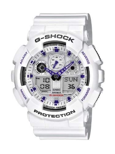 Casio G-Shock Herren-Armbanduhr AnalogDigital Quarz GA-100A-7AER