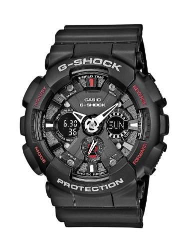 Casio Herren-Armbanduhr Analog - Digital Quarz Resin GA-120-1AER