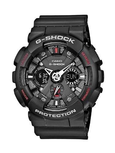 Casio Herren-Armbanduhr Analog - Digital Quarz Resin GA-120-1AER