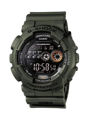 Casio G-Shock Herren-Armbanduhr Digital Quarz GD-100MS-3ER
