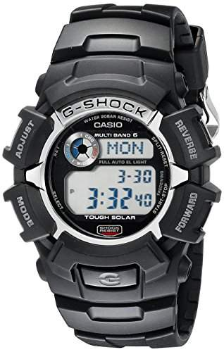 CASIO G-SHOCK MENS RESIN CASE DATE BLACK RESIN MINERAL GLASS UHR GW2310-1