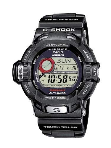 Casio G-Shock Herren-Armbanduhr Funk-Solar-Kollektion Digital Quarz GW-9200-1ER
