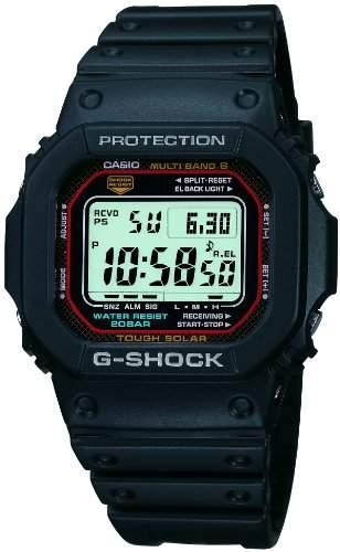 CASIO G-SHOCK G-Shock Tough Solar Funkuhr Multiband 6 GW-M5610-1JF Maenner