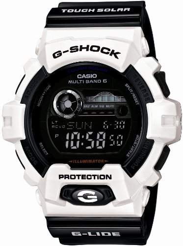 CASIO G-SHOCK G-Shock G-LIDE G Fahrt Tough Solar Radio Multiband 6 GWX-8900B-7JF Maenner