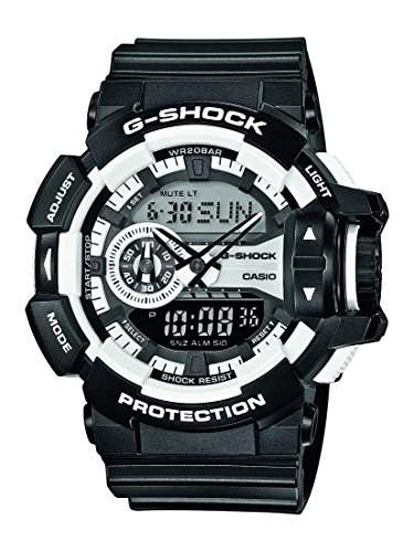 Casio Herren Armbanduhr Analog - Digital Quarz Resin Ga-400-1Aer