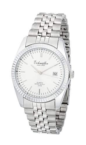 Eichmueller Uhr Edelstahl Armbanduhr Herrenuhr Miyota 2115 mit Datum
