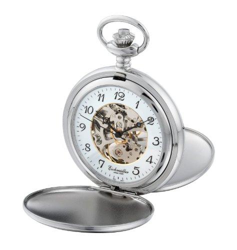 Eichmueller Taschenuhr poliert 8232 Farbe Silber