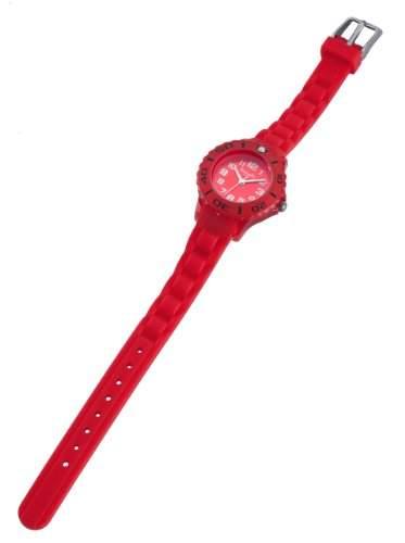 Hochwertige Kinder Silikon Uhr Rot