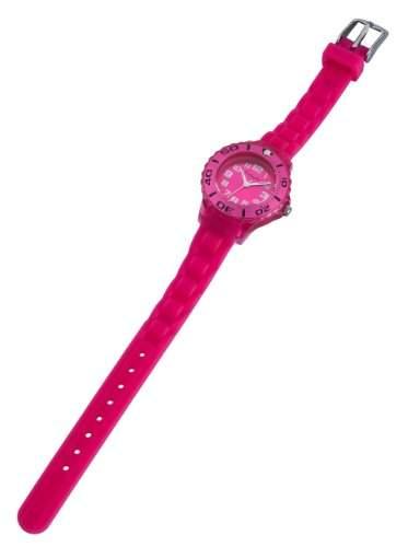 Hochwertige Kinder Silikon Uhr Pink