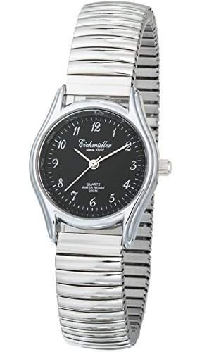 Eichmueller Analog Damenuhr DAU-quartz,Edelstahl Zugband Armbanduhr, Miyota