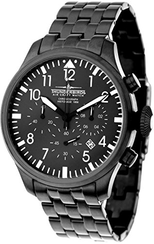 Thunderbirds Fliegeruhr TB1076 03 Historage 1956 Chronograph