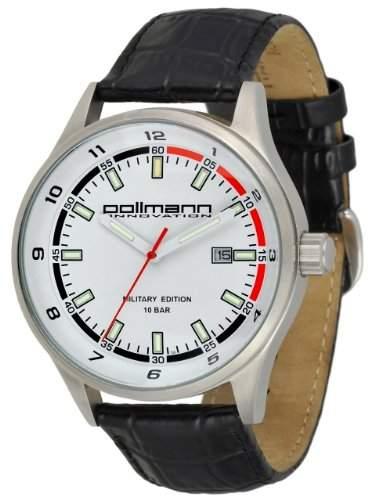Pollmann - Tritium - Herrenuhr - Lederband - 56835