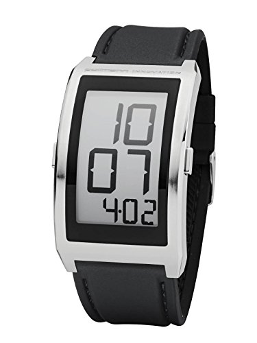 Pollmann Digitale Uhr Ink Paper Display Datum Black White 58740