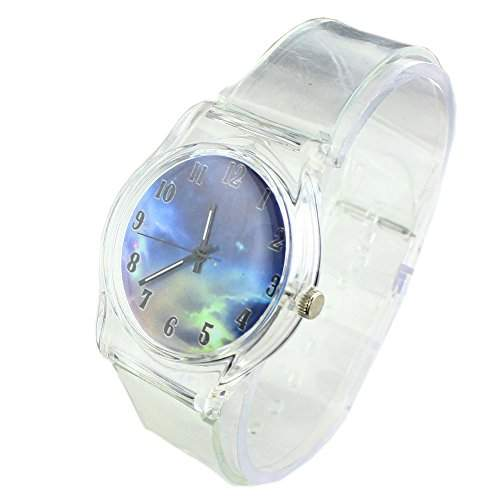 FACILLA® Damen Armbanduhr Uhr Quarzuhr Wacht Himmel Motiv Wasserdicht Hochwertig NEU