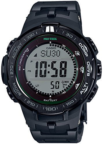 CASIO watches PROTREK Triple Sensor Ver 3 equipped with the world six stations corresponding Solar radio PRW 3100FC 1JF