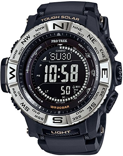 CASIO watches PROTREK Triple Sensor Ver 3 equipped with the world six stations corresponding Solar radio PRW 3510 1JF