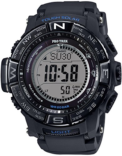 CASIO watches PROTREK Triple Sensor Ver 3 equipped with the world six stations corresponding Solar radio PRW 3510Y 1JF
