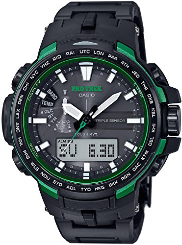 CASIO watches PROTREK Triple Sensor Ver 3 equipped with the world six stations corresponding Solar radio PRW 6100FC