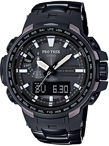 CASIO watches PROTREK Triple Sensor Ver 3 equipped with the world six stations corresponding Solar radio PRW 6100YT 1JF