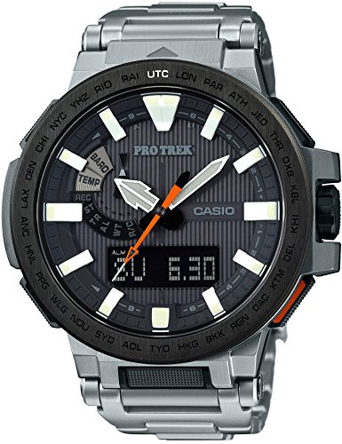 CASIO watches PROTREK MANASLU world six stations corresponding Solar radio PRX 8000T 7AJF Men