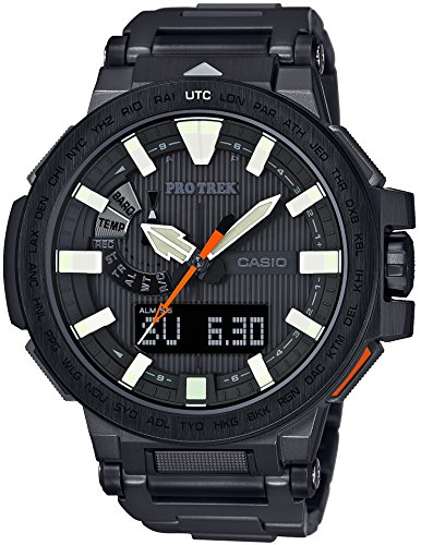 CASIO watches PROTREK MANASLU world six stations corresponding Solar radio PRX 8000YT 1JF Mens