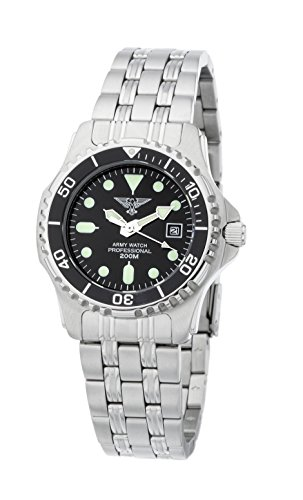 Army Watch Damen Taucheruhr EP881 20ATM