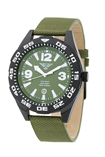 ARMY WATCH by Eichmueller Taucheruhr M183 20 ATM 200m Wasserdicht