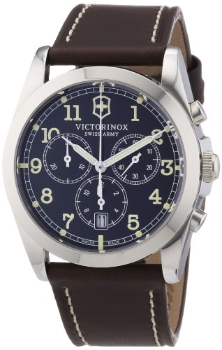 Victorinox Swiss Army Classic Infantry Chronograph Quarz Leder 241567