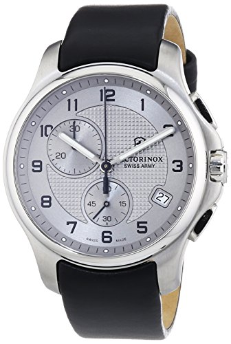 Victorinox Swiss Army XL Classic Officers Chronograph Quarz Leder 241553