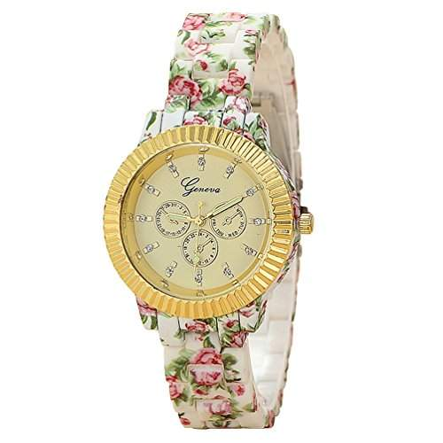13Farben Geneva Damen Armbanduhr Classic Gel Kristall Silikon Jelly Watch o