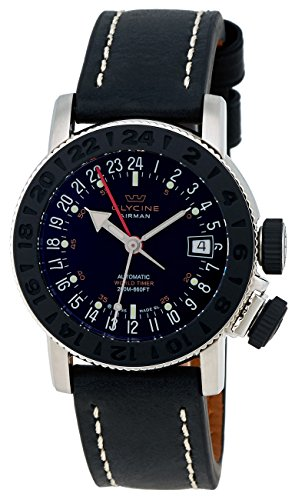 Glycine Airman 18 Sphair Automatic GMT World Timer