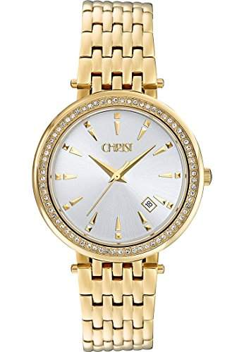 CHRIST times Damen-Armbanduhr Analog Quarz One Size, silber, gold
