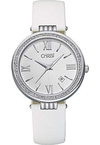 CHRIST times Damen-Armbanduhr Analog Quarz One Size, silber, weiss