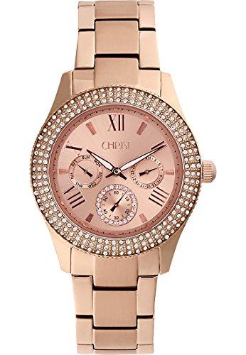 CHRIST times Damen Armbanduhr Analog Quarz One Size rose