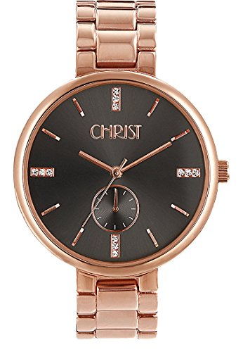 CHRIST times Analog Quarz One Size grau rose