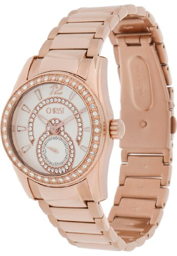 CHRIST times Analog Quarz One Size silber rosé silber 85999095
