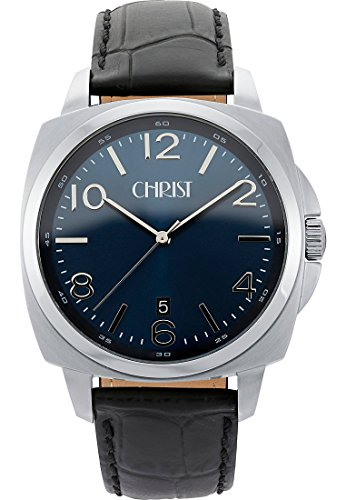 CHRIST times Analog Quarz One Size blau schwarz