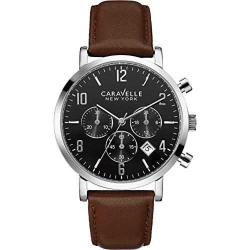 Caravelle New York Herrenuhr Chronograph 43B140 99