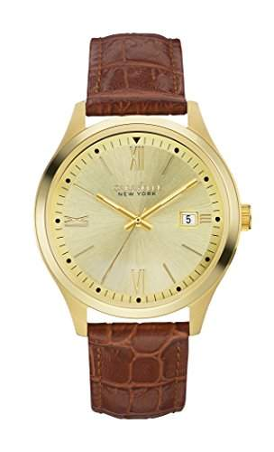 Caravelle New York Dress Mens Date Watch 44B109