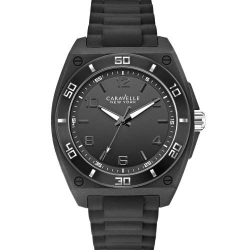Caravelle New York Black & White Herrenuhr 43A127